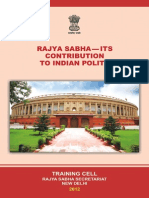 Rajyasabha It is Contribution to Indian