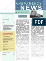 Transparency News n°8 La transparence dans la gestion les recettes fiscales - préalable au développement du civisme fiscal_0