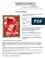Commentairecompose.fr-candide Chapitre 3 Lecture Analytique