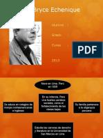 Alfredo Bryce Echenique Vida y Obras