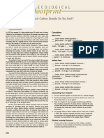 Carbon Dioxide Ecofootprint