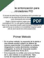 Reglas de Sintonizacion Para Controladores PID
