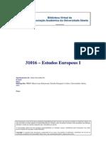 Estudos Europeus I - Perspetiva histórica - Autor desconhecido-1
