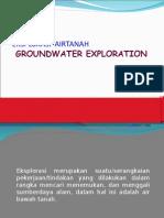 Eksplorasi Air Tanah