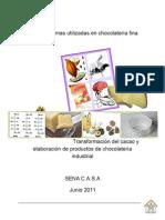 Materias Primas en Chocolateria