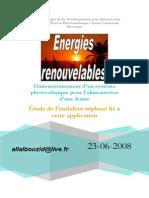 Installation Photovoltaique Renewable Energy