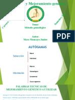 metodo genealogico o pedigree