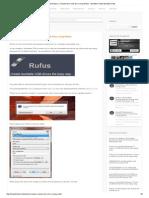Install Windows or Ubuntu From Usb Drive Using Rufus - Bootable USB _ Bootable USB