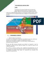 Monografía Volcanes Del Sur Del Peru
