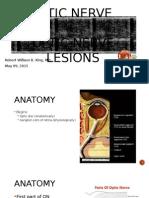 Optic Nerve and Optic Nerve Lesions