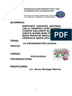 ORGANIZACION LABORAL
