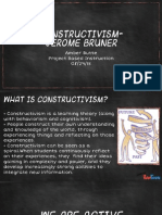 constructivism and discovery learning