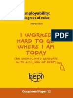 Rich 2015 Employability - Degrees of value - HEPI Yellow Paper.pdf