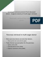 Pancreatic Transplant Tecnique