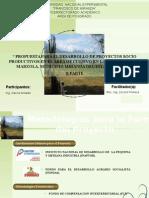 Proyecto Socioproductivo Marzola. Ejemplo