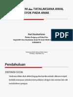 1. Deteksi Dini Dan Tatalaksana Awal Syok Pada Anak-dr. Hari-ok