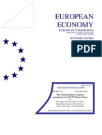 The economic impact of ageing populations in the EU25 Member States