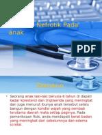 Sindrom Nefrotik Pada Anak