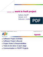 How to Work in Fsoft Project