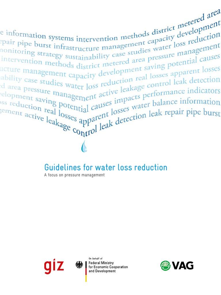 Giz2011 en Guideline Water Loss Reduction | Water Resources | Water ...