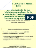 UNNE en El Medio 2015 Corrientes 3