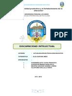 MONOGRAFIA DE DISCAPACIDAD INTELECTUAL.doc