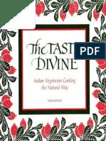 Vanamali Vanamali-The Taste Divine_ Indian Vegetarian Cooking the Natural Way -State University of New York Press (1992)
