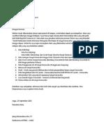 Contoh Surat Permintaan Data