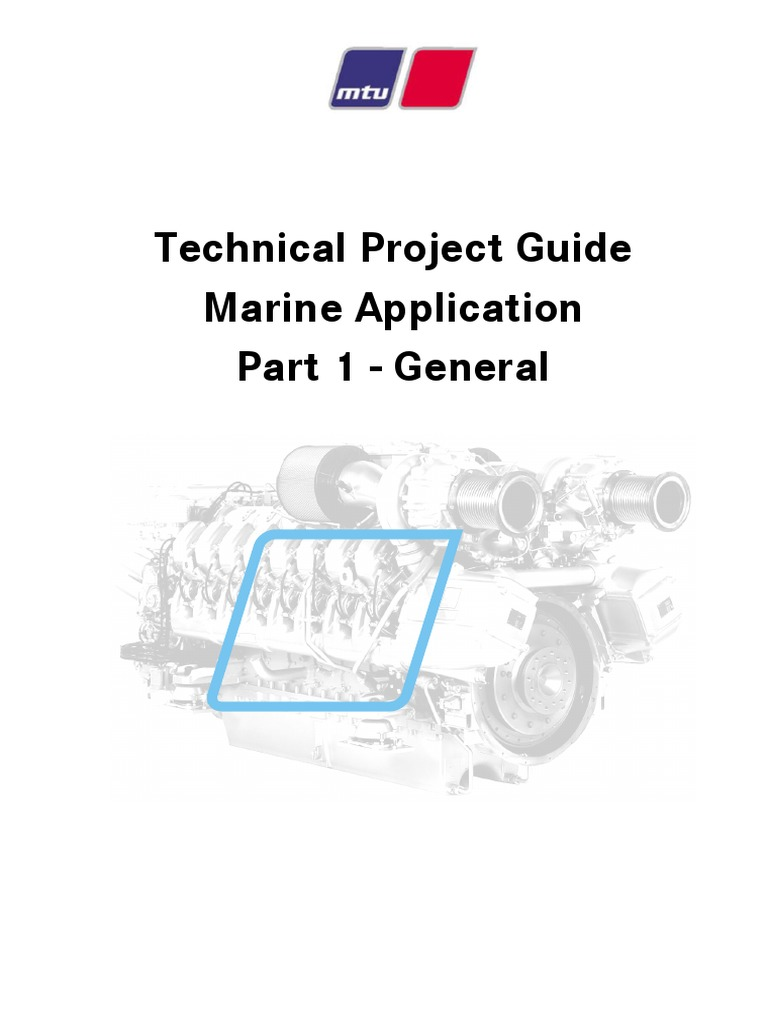 technical project guide mtu proj part 1 propeller marine propulsion rh es scribd com Electrical Manuals SV 185 Boat Owners Mechanical and Electrical Manual