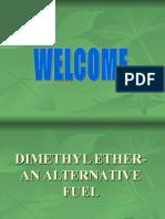 Dimethyl Ether Alternative Fuel