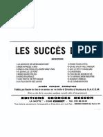 Recueil - Les Succès d'Hier (16 Titres Connus)