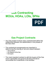 Gas Contract Alphabets