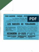 Sheets-Editions Recueil - Les Succès de Toujours (16 Titres Connus)