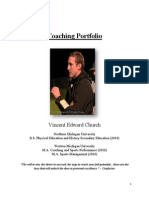 coaching portfolio