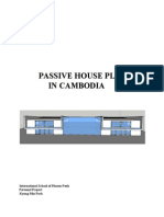 Passive House Plan in Cambodia
