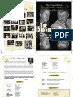 The Sunshine Boys Programme