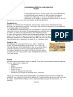 Guia Textos Informativos 5º