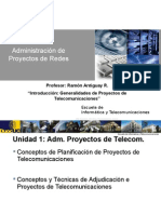 Clase 1 Adm Proyecto de Redes 2015