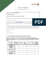 Carta de Recomendación - Formato_2016