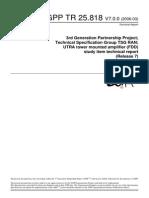 3GPP TR 25.818 V7.0.0 (2006-03)