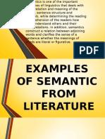 Definition of Semantic