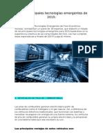 Tecnologías Emergentes (2015)