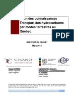 #ÉES-Chantier Transport Terrestre mars 2015