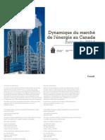 #Dynamique du Marché de l'Énergie au Canada