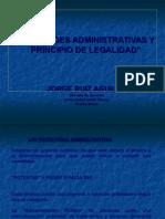 Potestades Administrativas y Legalidad