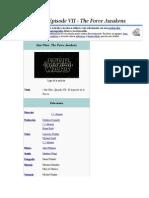 Capitulos Stars Wars