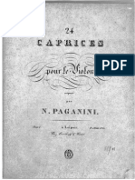 Paganini - 24 Caprices Op.1