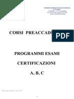Programmi Cert. ABC PER SITO Agg19!3!14
