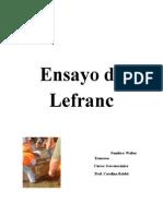 Ensayo de Permeabilidad Lefranc Ultimo