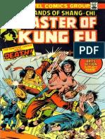 Shang Chi Master of Kung Fu 22 Vol 1